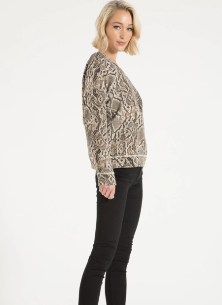 Central Park West Montreal Sweatshirt - Sand Python