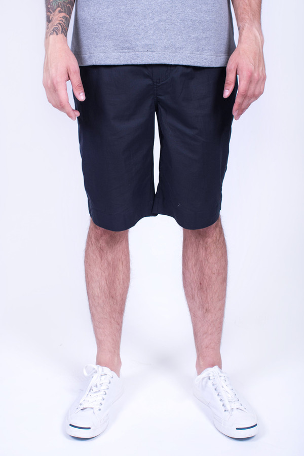 Men's Our Legacy Relaxed Shorts Navy
