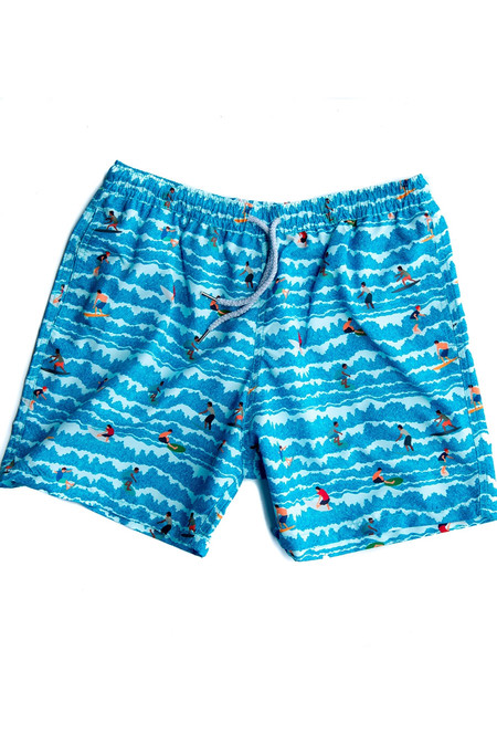 Estivo Little Surfers Swim Trunks