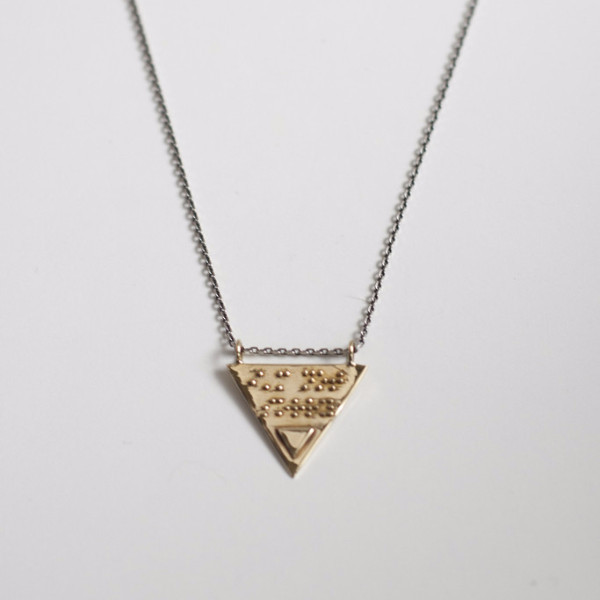 """Kate Necklace — """"i'm not sorry"""""""