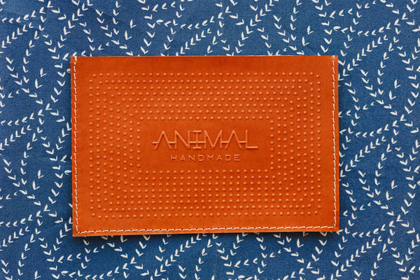 Animal Handmade Night Safari Clutch- Tan