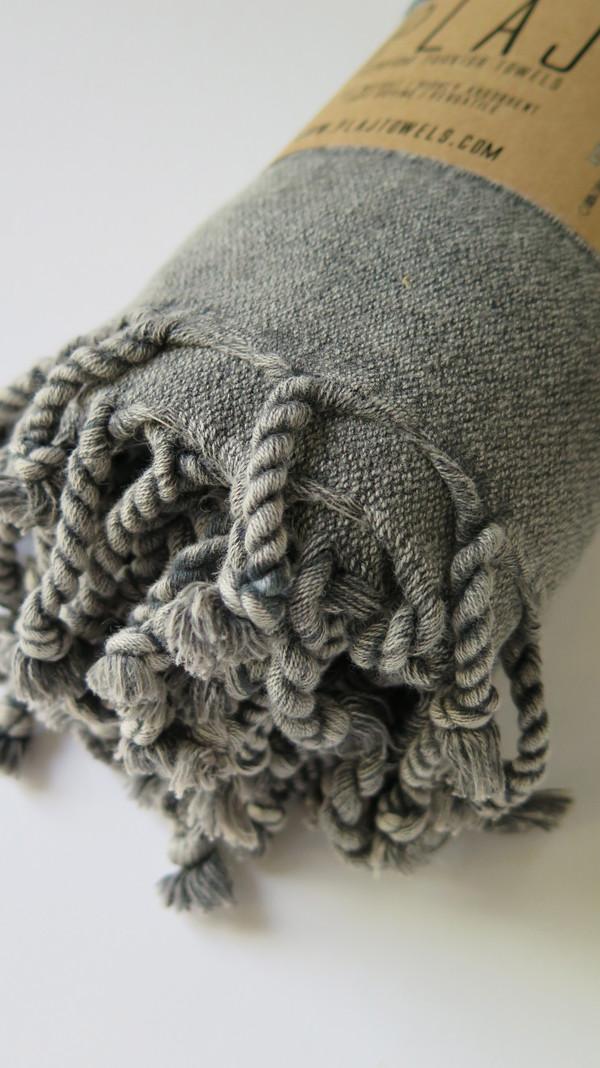 Texada Stonewashed Towel- Black