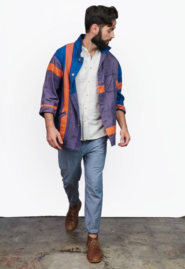 Men's Deshal Dora Canvas Overshirt