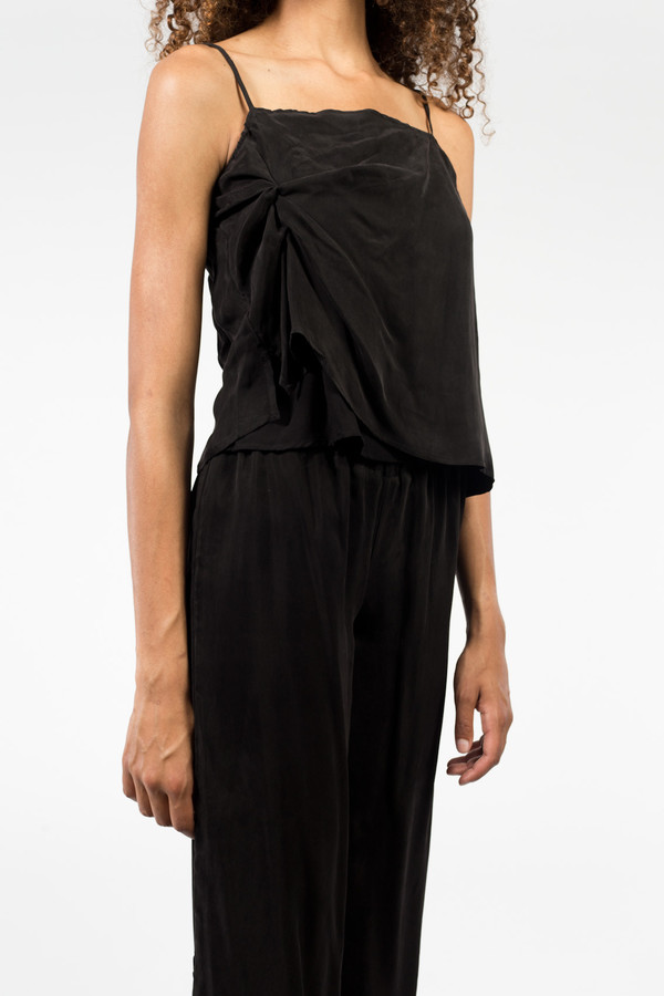 Objects Without Meaning Twist Tank Black