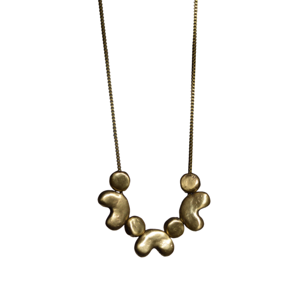 Danielle Wright Shapes necklace