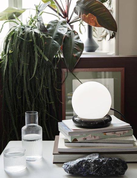 Ferm Living Rest Marble Lamp - Black