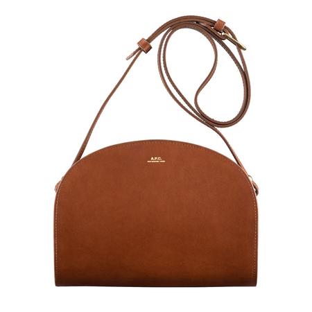 A.P.C. half-moon bag - Hazelnut