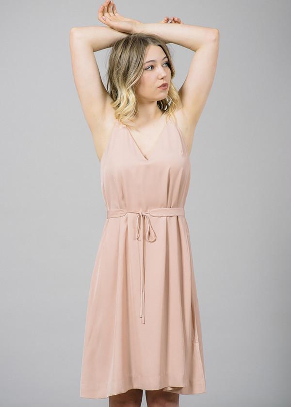 Whyred Cory Blush Slip Dress