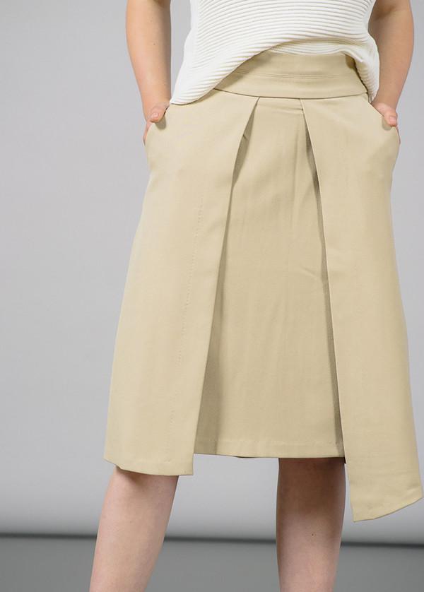 Just Female Dia Open Panel Skirt