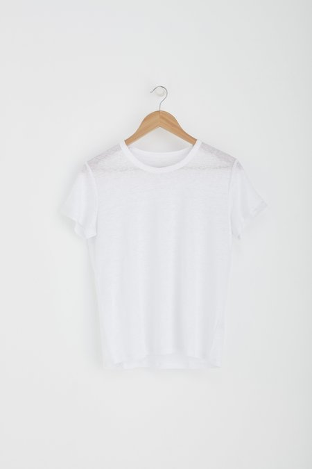 Laing Home Essential Linen Tee - White