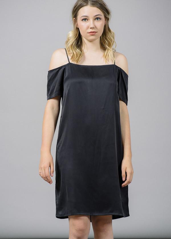 Just Female Sorta Off-The-Shoulder Strap Dress