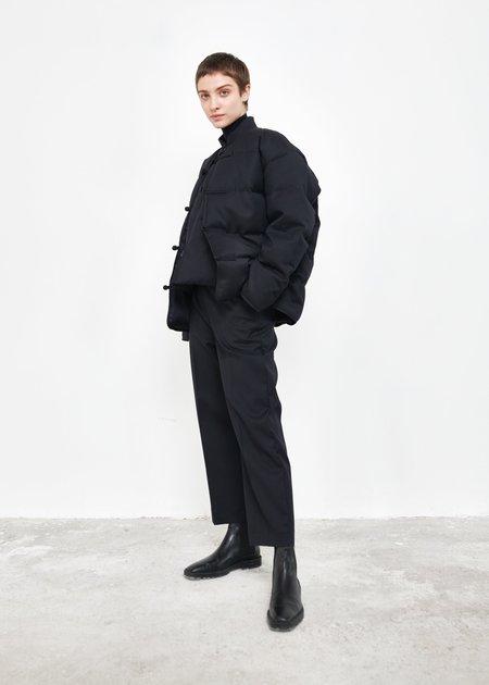 Ms Min Chinese Style Down Jacket - Dark Navy