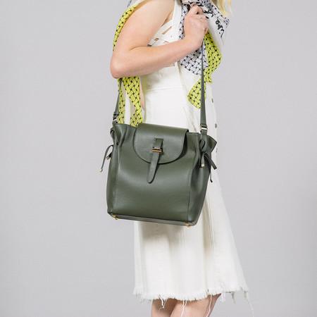 Meli Melo The Fleming Medium Military Calf Bag