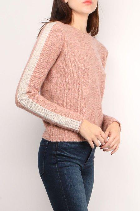 Majestic Filatures Cashmere Long Sleeve Crew Sweater - Terracotta