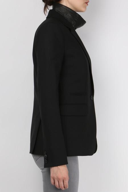 Veronica Beard Moto Dickey Jacket - Black