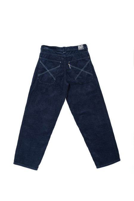 HOMEBOY Xtra Baggy Cord Pant - Midnight Blue