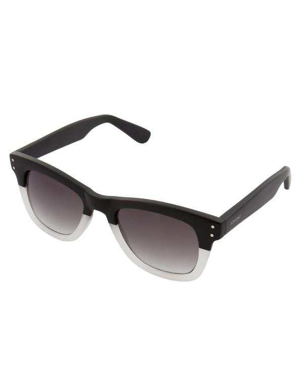 Komono Allen Sunglasses Matte Black Transparent