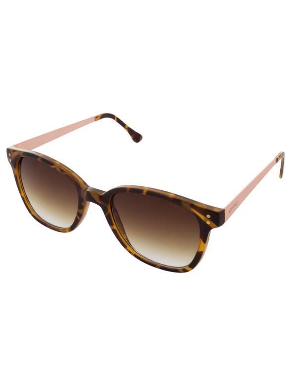 Komono Renee Sunglasses Metal Tortoise Rose Gold