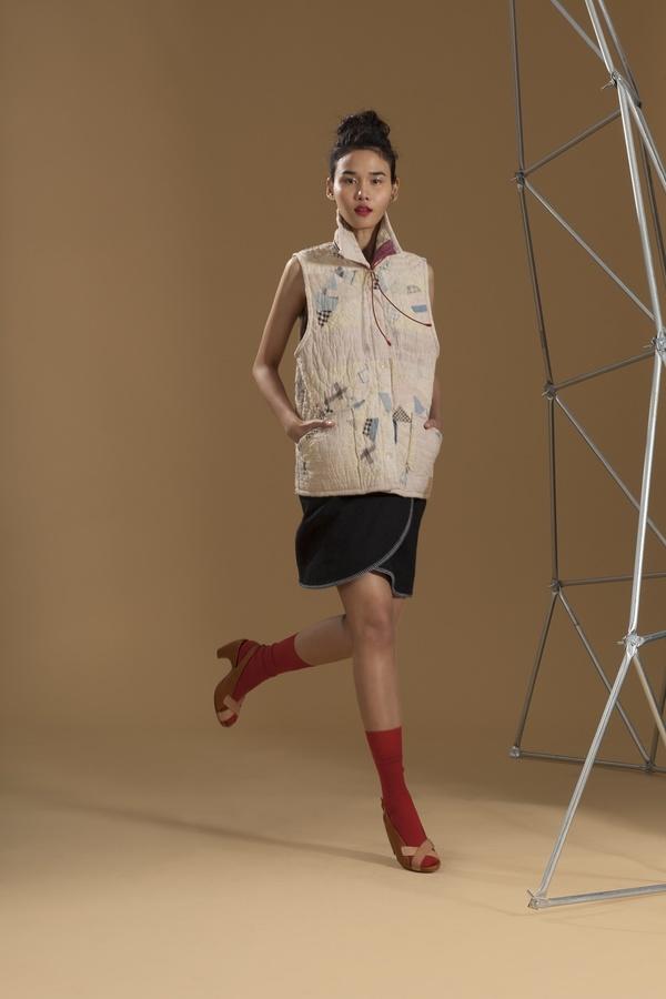 Carleen Vintage Quilt Vest