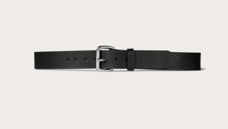 "Filson 1-1/2"" Leather Belt - Black"