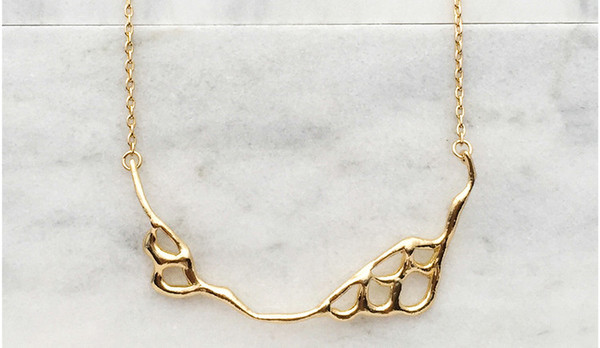 Merewif Scale Current Necklace