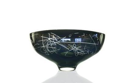 Jeff Goodman Studio Lustre Scribe Bowl