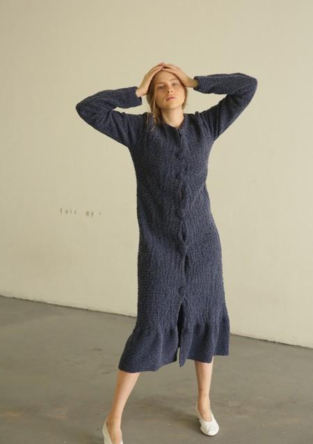 DELFINA BALDA COMFORT DRESS - SKY BLUE