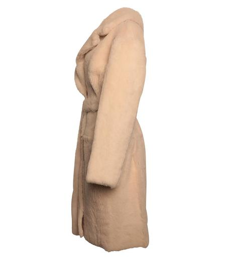 Karl Donoghue Reversible Cashmere/Lambskin Belted Coat - Chantill