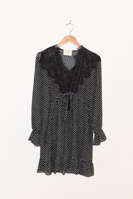 Just Female Ester Dress - Black Dot