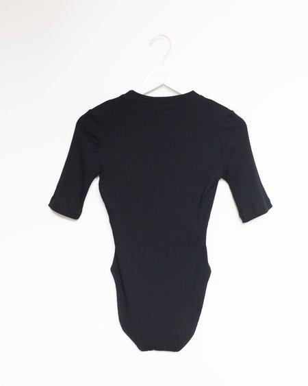 Kamperett T-shirt Bodysuit - Black