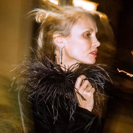 Rachel Comey Piuma Choker - Black Ostrich Feather