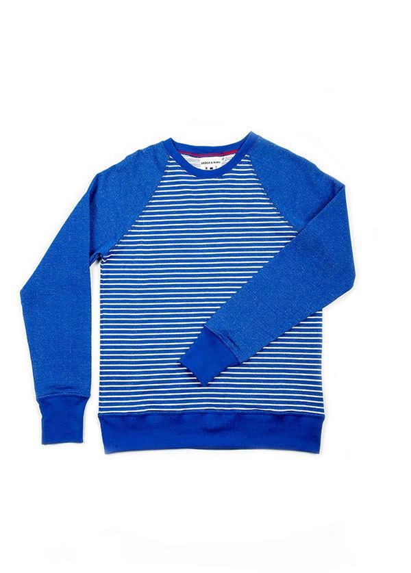 Men's Bridge and Burn - Crew Neck Sweater in Stripe
