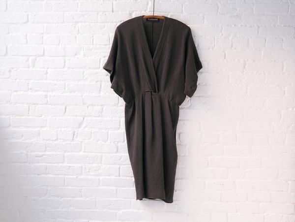 Alasdair twist tunic