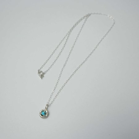 Monica Squitieri Jade Cove Necklace - Sterling Silver/Turquoise