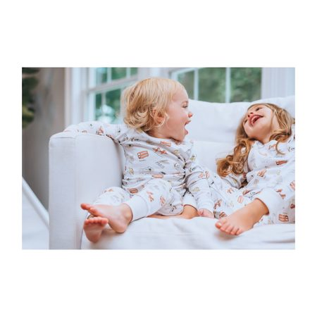 Kids Unisex SAMMY + NAT Two Piece Pajama - Around the World
