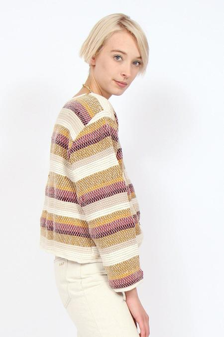 tonlé Srey Sweater - Striped Desert