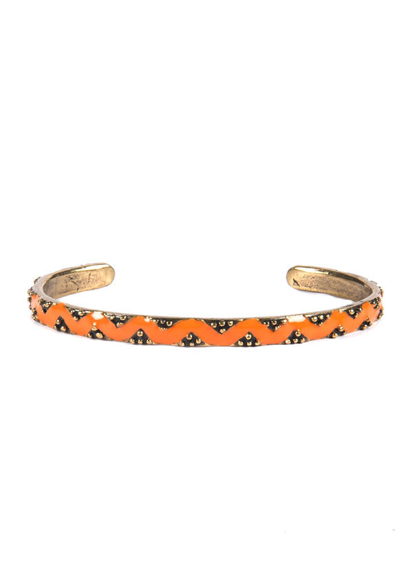 Dream Collective - Diamond River Cuff in Orange