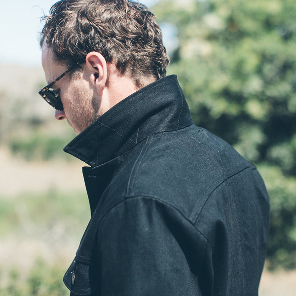 Taylor Stitch The Long Haul Jacket in Yoshiwa Mills Black Selvage
