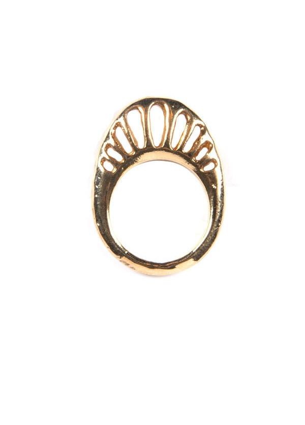 Dream Collective - Golden Eurybia Ring