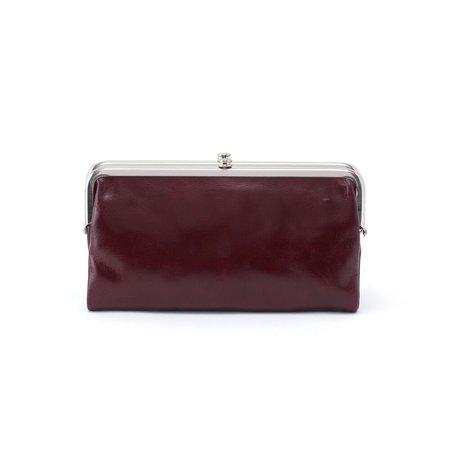 hobo international The Lauren clutch-wallet - Plum