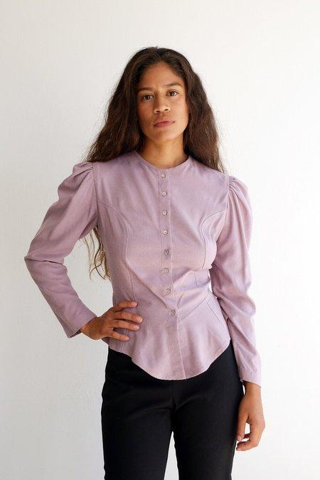 Town rosa blouse - woodrose