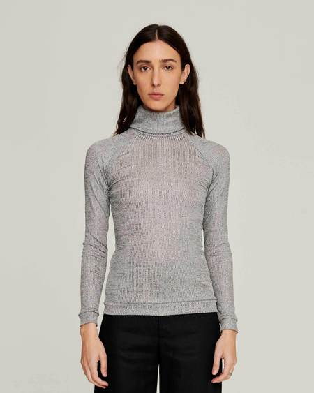 permanent vacation Turtleneck - Silver