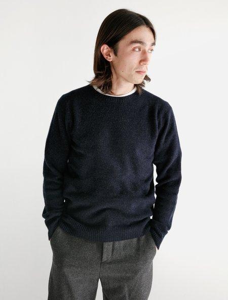 Neighbour Merino Cashmere Sweater - Navy