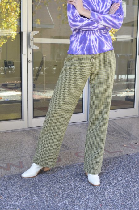 Paloma Wool Castlebuono Pants - Green Olive