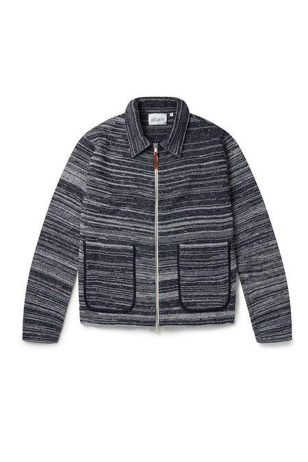 ALBAM Stripe Milano Track Sweater