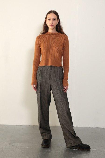 Daēza Rib Sweater - Butterscotch
