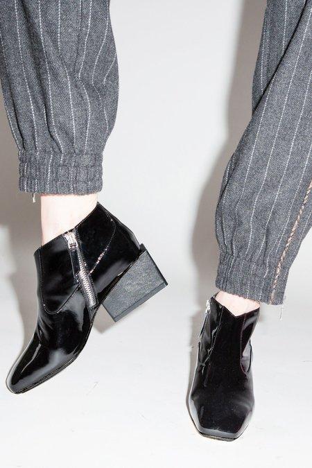 Kurt Lyle Gina Ankle Boot - Black Patent