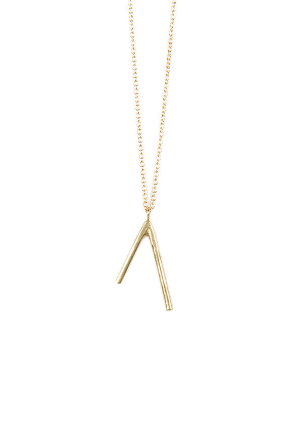 Another Feather Dart Necklace