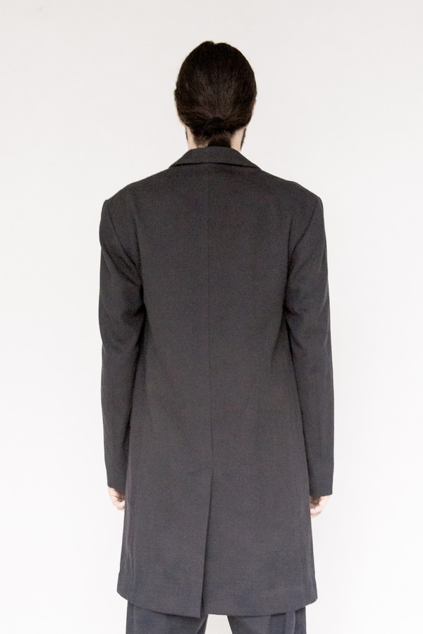 Robert Geller Cotton Dominik Coat