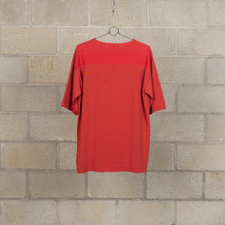 Nigel Cabourn 50s Football T-Shirt - Red